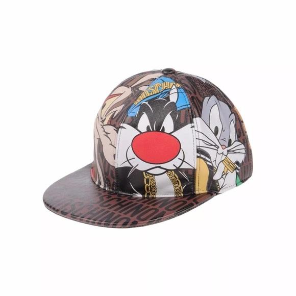 b23ad14785ecf MOSCHINO Jeremy Scott Looney Tunes SnapBack Hat